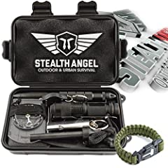 The Stealth Angel Professional 9-in-1 Survival / Everyday Carry Kit was specifically designed and developed by our experts to keep you safe in any situation.  Our professional team of enthusiasts, law enforcement members and veterans have cre...