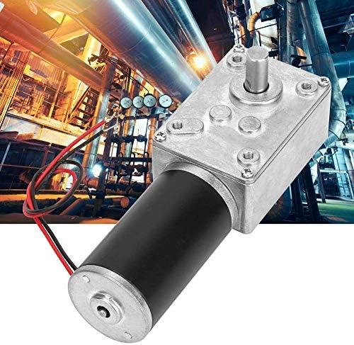 ZJN-JN 削減モーターはスピード、ハイねじり速度は8ミリメートルシャフト24V(20RPM)で電気ギアボックスモーターリバーシブルウォームギヤメタルモーター減速を削減します 工業用モータ