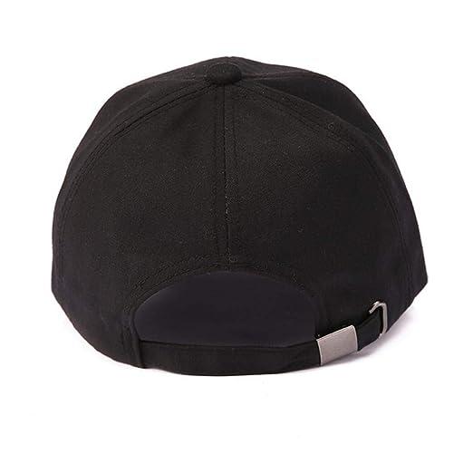 Rovinci Moda Unisexo Mujer Hombres Ajustable Vistoso Carta Bordado Béisbol  Sombrero Cap Sombrero Plano (Armada)  Amazon.es  Ropa y accesorios bd6054a122f
