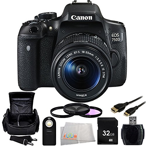 canon-eos-750d-t6i-dslr-camera-with-ef-s-18-55mm-f-35-56-is-stm-lens-9pc-accessory-kit-includes-32gb