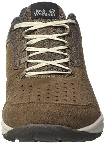Jack Wolfskin Herren Seven Wonders Basso M Sneaker Braun (siltstone)