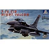 Italeri 0188S F-16 C/D Night Falcon 1/72 Scale Aircraft Model Kit