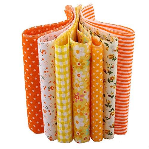 orange sewing fabric - 8