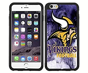Minnesota Vikings Football Sports Rubber Snap on Phone Case (iPhone 6)