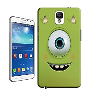 BreathePattern-357.Mike Wazowski Plastic Protective Case-Samsung Galaxy note3 case