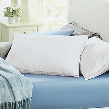 Amazon Com Brookstone Biosense Memory Foam Classic Pillow