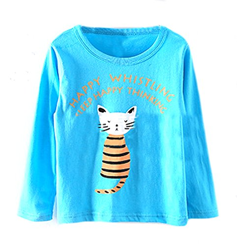 Pipi Little Boys Popular Girls Popular Cat Striped Letter Lo
