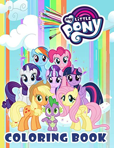 My Little Pony Coloring Book: For Kids]()