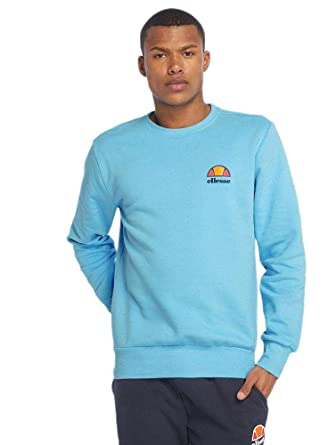 3412f92fd6 ellesse Diveria Crew Neck Sweat Shirt | Light Blue at Amazon Men's ...