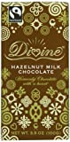 Divine Hazelnut Bar, Milk Chocolate, 3.5 Ounce (Pack of 10)