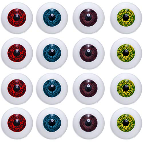 16 Pieces Halloween Eyes Hollow Horror Eyes Hollow