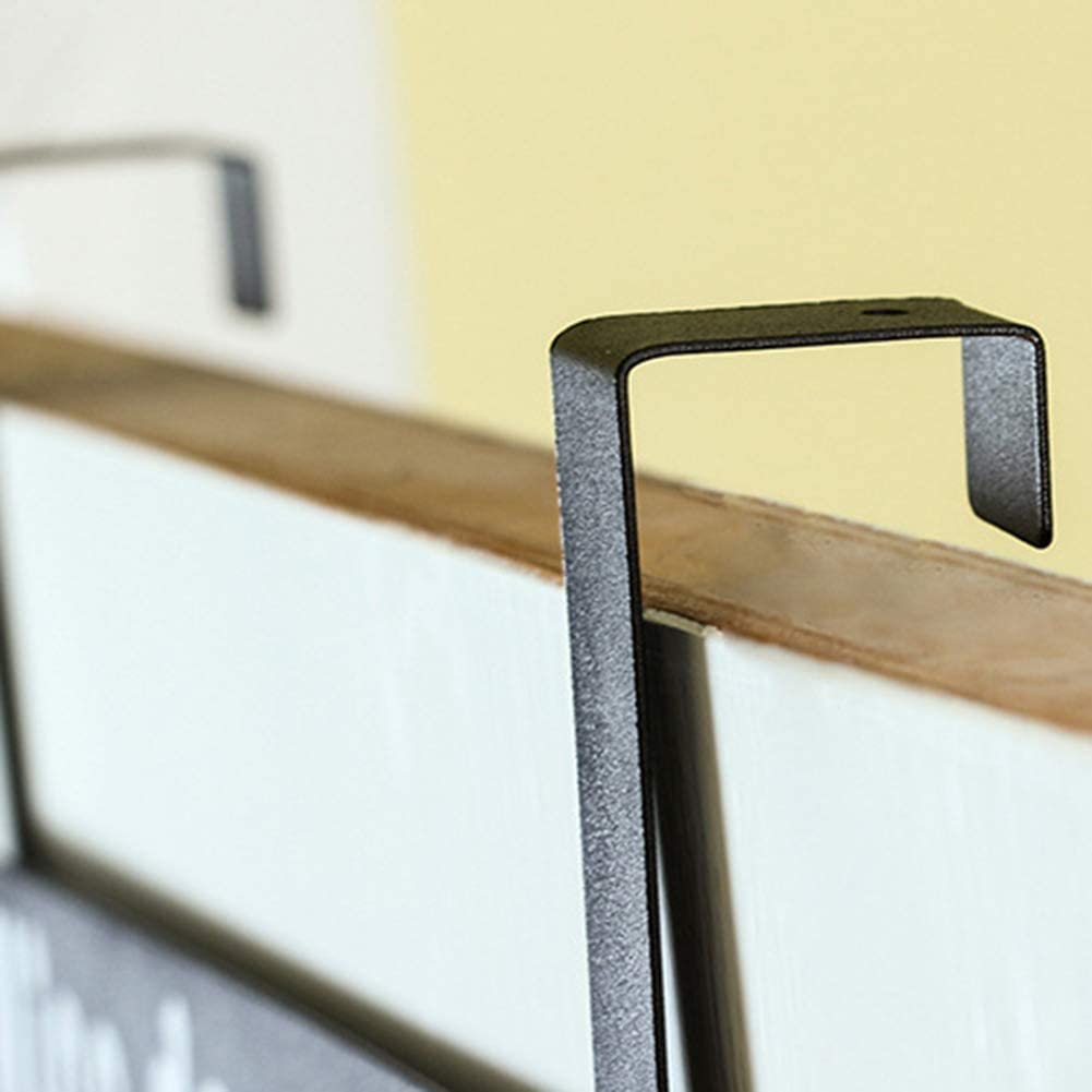i7kbgshj Over Door Hook Rack 6 Hooks Organizer Rack Over The Door Coat Hanger Carbon Steel Bathroom Towel Hanger Cute Bear Coat Hook Rail Storage Organizer Rack for Jacket Hat Scarf Towel White