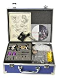 Rotary Tattoo Kit 3 Gun Tattoo Machine Kit Complete with Tattoo Power Supply, Needles By Fancierstudio A06