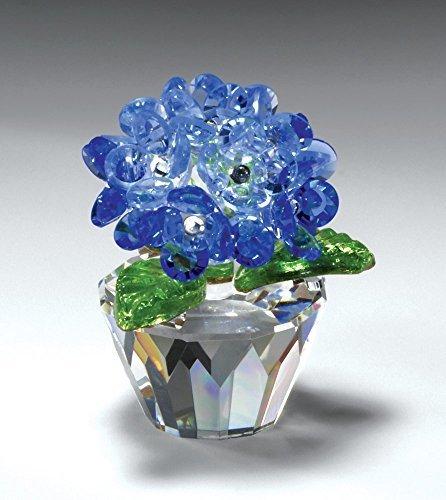 """CRYSTAL WORLD """"Blue Hydrangea"""""""