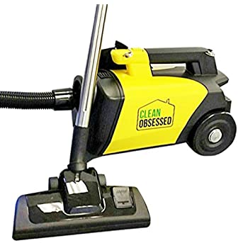 Image of Canister Vacuums Clean Obsessed Commercial HEPA Canister Vacuum CO711