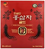 Hansamin Korean Red Ginseng Tea Gold, 50 Count