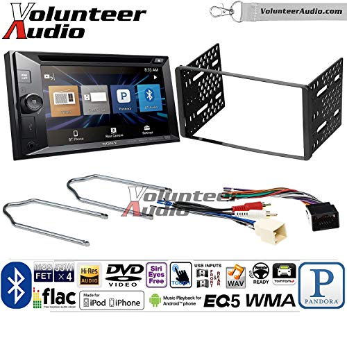 Volunteer Audio Sony XAV-W651BTN Double Din Radio Install Kit w/Bluetooth, Pandora, iPhone Control, USB, AUX, Navigation For 1999-2004 F-150, 2003-2008 E-150, 1998-2012 Ranger