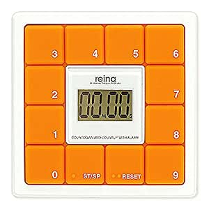 reina 10 key timer Orange RJ029TM02-OR