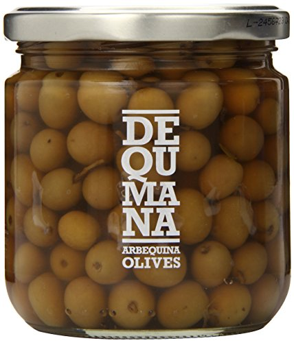 Dequmana Arbeqïna Olives, 12 - Olive Arbequina