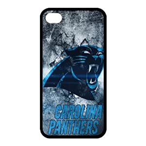 Custom Carolina Panthers NFL Back Cover Case for iphone 4,4S JN4S-1262