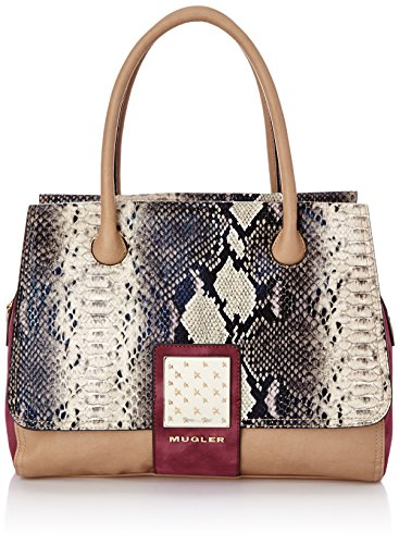 Thierry Mugler Amazone 2 - Bolso para mujer Beige 7l22