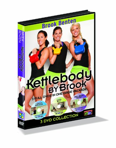 GoFit Brook Benton Kettlebody By Brook Workout Dvd Set- 3 Disk Series
