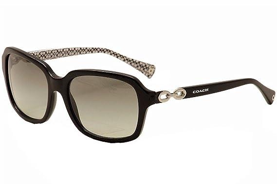 d002f3103f69a ... canada coach l081 ashley sunglasses hc8104 521411 black black white sig c  grey gradient 57 17