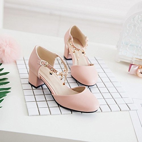 Alta BAJIAN estivi di basse sandali Flip sandali Ladies scarpe LI heelsWomen Flop Peep toe scarpe fqT15T