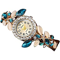 Binmer(TM) LVPAI Hot Sale Fashion Luxury Women's Watches Women Bracelet Watch (Blue)