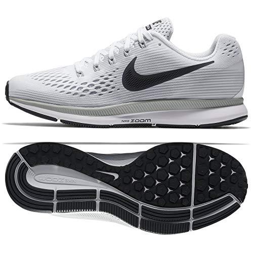 Nike Women's Air Zoom Pegasus 34 Running Shoe White/Anthracite Pure Platinum