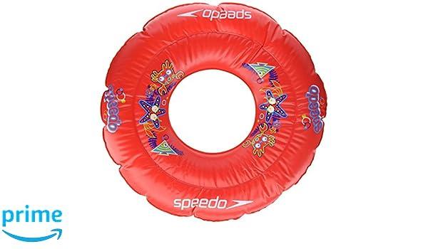 Speedo, Sea Squad Swim Ring, Flotador Redondo, Unisex Bebé, Rojo Lava, Talla Única, 2-3 años: Amazon.es: Deportes y aire libre