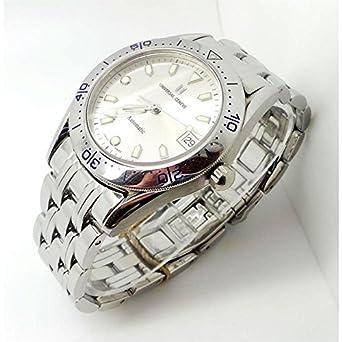 Uhr Kunsthandwerk Herren 871175 Schalter Stahl Quandrante Silber Armband Stahl