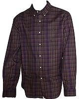 Ralph Lauren Men's Shirt MTWill Forest Green Plaid XXL