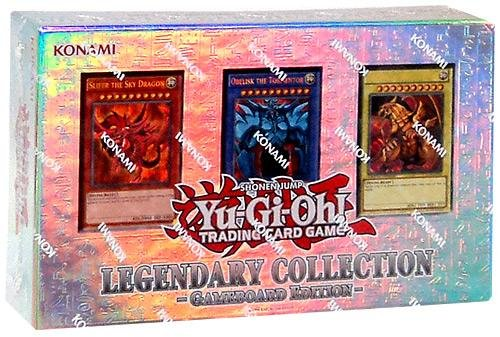 Yu Gi Oh ! Trading Cards (YuGiOh LEGENDARY COLLECTION Gameboard Edition Gods Cards LC01)
