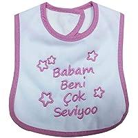 Sebi Bebe 53420 Babam Beni Çok Seviyor Mama Önlüğü 53420-PMB7