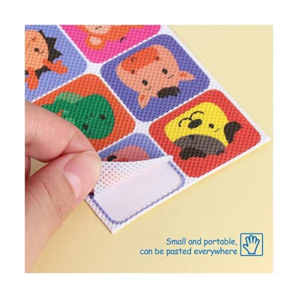 SUPVOX Repellente per zanzaCre,Anti zanzare Patches cerotti autoadesivi naturale repellente per bambini - 36pz 2 spesavip