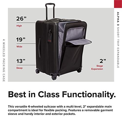 0b633463f19d TUMI - Alpha 3 Short Trip Expandable 4 Wheeled Packing Case Suitcase ...