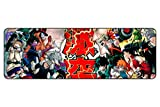 Funky Store My Hero Academia Boku no Hero Academia Large Extended Gaming Mouse Pad Mat, Stitched Edges, Ultra Thick 3 mm, Wide & Long Mousepad 31.5' x 11.8' x 0.12' (MYH- 05)