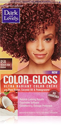 SoftSheen-Carson Dark and Lovely Color-Gloss Ultra Radiant Color Crème, Medium Red Brown 05R -  9851761735