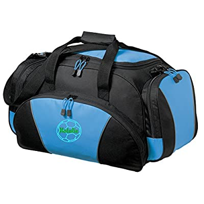 Personalized Soccer Metro Duffel Gym and Travel Bag (Light Blue) cheap 29c6ba4026