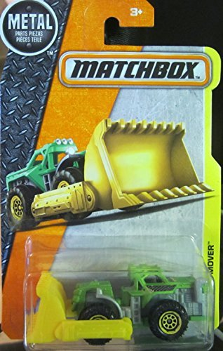 Matchbox 2016 MBX Construction Mound Mover Bulldozer 56/125, (Mbx Mover)