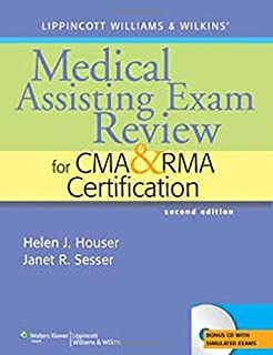 Medical assisting review passing the cma rma other exams w lippincott williams wilkins medical assisting exam review for cma and rma certification fandeluxe Gallery