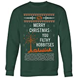 Merry Christmas You Filthy Hobbitses Lord of The Rings Ugly Christmas Sweater Unisex Sweatshirt