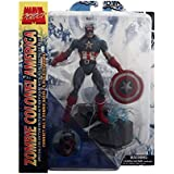 Marvel Select Zombie Colonel America Figure - Captain America Marvel Zombies Comic Series