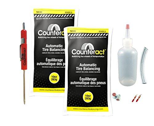 - DIYSK-10 Counteract Tire Balancing Beads 11R22.5-24.5 Steer Kit - 10oz DIY Kit (20oz)