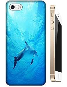 A cute dolphin beautifil sea lovely dolphins cell phone cases design for Apple Accessories iPhone 4/4S