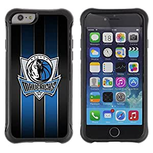 King Case@ Maverick Basketball Dallas Rugged hybrid Protection Impact Case Cover For iPhone 6 Plus CASE Cover ,iphone 6 5.5 case,iPhone 6 Plus cover ,Cases for iPhone 6 Plus 5.5