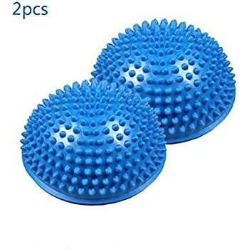 Amazon.com: W-family 2Pcs Anti-slip Foot Massage Ball Half ...