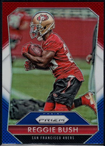 Football NFL 2015 Panini Prizm Red, White and Blue Prizm #39 Reggie Bush 49ers