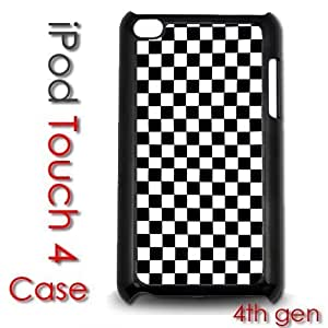 IPod Touch 4 4th gen Touch Plastic Case - Checkers Checkerboard Pattern